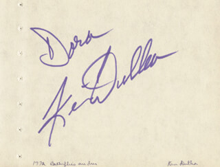 KEIR DULLEA - INSCRIBED SIGNATURE