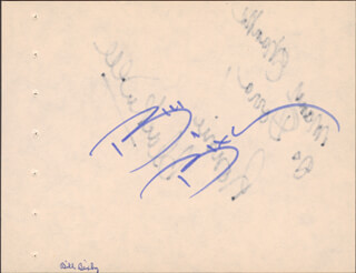 Autographs: BILL BIXBY - SIGNATURE(S) CO-SIGNED BY: RONNIE BLACKWELL