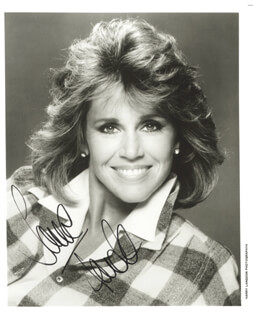 JANE FONDA - AUTOGRAPHED SIGNED PHOTOGRAPH