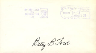 FIRST LADY BETTY FORD - ENVELOPE SIGNED CIRCA 1975
