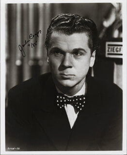 JACKIE COOPER - AUTOGRAPHED SIGNED PHOTOGRAPH 7/1985