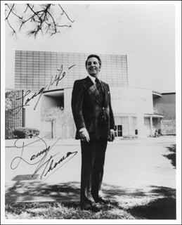 DANNY THOMAS - AUTOGRAPHED SIGNED PHOTOGRAPH