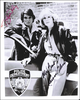 CAGNEY & LACEY TV CAST - AUTOGRAPHED SIGNED PHOTOGRAPH CO-SIGNED BY: SHARON GLESS, TYNE DALY - HFSID 65861