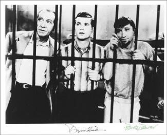 DOBIE GILLIS TV CAST - AUTOGRAPHED SIGNED PHOTOGRAPH CO-SIGNED BY: BOB DENVER, DWAYNE HICKMAN