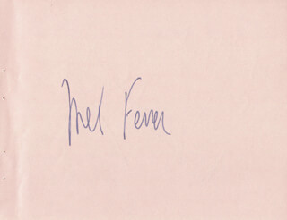 MEL FERRER - AUTOGRAPH CO-SIGNED BY: MALCOLM SARGENT