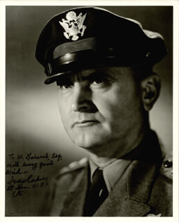 GENERAL IRA C. EAKER - AUTOGRAPHED INSCRIBED PHOTOGRAPH