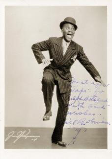 BILL BOJANGLES ROBINSON - AUTOGRAPHED INSCRIBED PHOTOGRAPH 1941