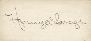 HENRY W. SAVAGE - AUTOGRAPH