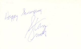 STAN (STANLEY ROGER) SMITH - AUTOGRAPH SENTIMENT SIGNED