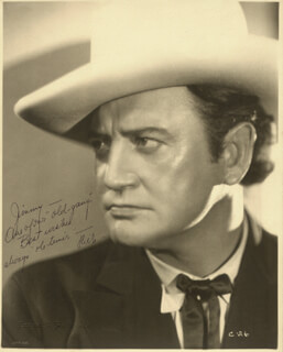 RICHARD DIX - AUTOGRAPHED INSCRIBED PHOTOGRAPH