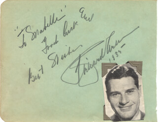 Autographs: RICHARD ARLEN - AUTOGRAPH NOTE SIGNED 1935