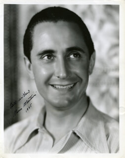 NINO MARTINI - AUTOGRAPHED SIGNED PHOTOGRAPH 1935