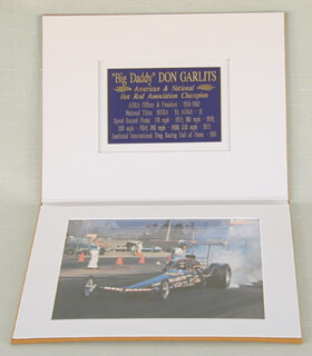 Autographs: DON BIG DADDY GARLITS - INSCRIBED PHOTOGRAPH SIGNED