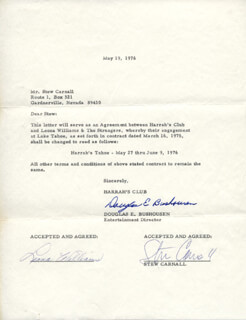 LEONA WILLIAMS - CONTRACT SIGNED 05/19/1976