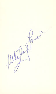 WHITEY FORD - AUTOGRAPH