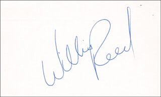 WILLIS REED - AUTOGRAPH