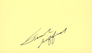 FRANK GIFFORD - AUTOGRAPH