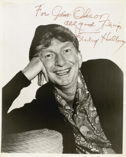 STERLING HOLLOWAY - AUTOGRAPHED INSCRIBED PHOTOGRAPH