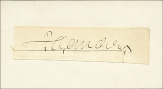 JOHN A. ANDREW - AUTOGRAPH  - HFSID 68289