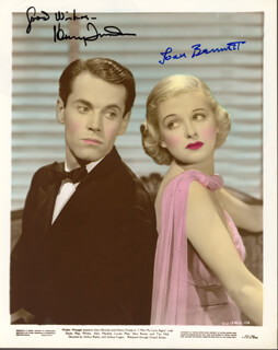 HENRY FONDA - AUTOGRAPHED SIGNED PHOTOGRAPH CO-SIGNED BY: JOAN BENNETT