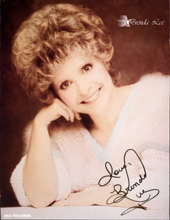 BRENDA LEE - AUTOGRAPHED SIGNED PHOTOGRAPH
