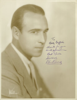 BEN BARD - AUTOGRAPHED INSCRIBED PHOTOGRAPH