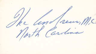 IKE ANDREWS - AUTOGRAPH