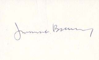 JAMES L. BUCKLEY - AUTOGRAPH