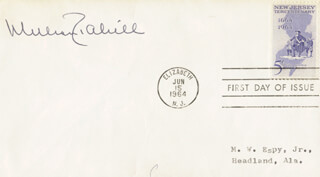 Autographs: GOVERNOR WILLIAM T. CAHILL - FIRST DAY COVER SIGNED