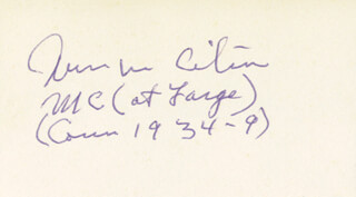 WILLIAM M. CITRON - AUTOGRAPH