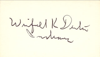 LT. COLONEL WINFIELD K. DENTON - AUTOGRAPH