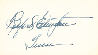 GOVERNOR BUFORD ELLINGTON - AUTOGRAPH