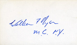 WILLIAM FITTS RYAN - AUTOGRAPH