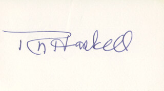ROBERT N. HASKELL - AUTOGRAPH
