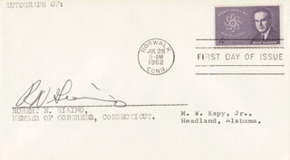ROBERT N. GIAIMO - FIRST DAY COVER SIGNED
