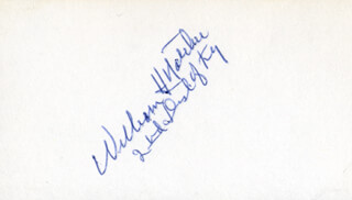 WILLIAM H. NATCHER - AUTOGRAPH