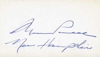 GOVERNOR WESLEY POWELL - AUTOGRAPH