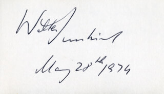 WALTER SUSSKIND - AUTOGRAPH 05/28/1979