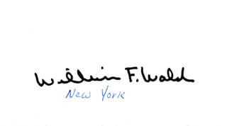 William F. Weld Autographs 71531