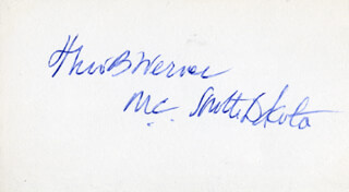 THEODORE B. WERNER - AUTOGRAPH