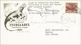 PRESIDENT HARRY S TRUMAN - FIRST DAY COVER SIGNED CO-SIGNED BY: HENRY T. MYERS