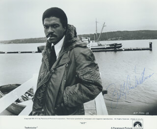 BILLY DEE WILLIAMS - AUTOGRAPHED SIGNED PHOTOGRAPH