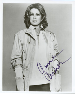 ANNE ARCHER - AUTOGRAPHED SIGNED PHOTOGRAPH