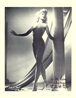 LILI ST. CYR - AUTOGRAPHED SIGNED PHOTOGRAPH