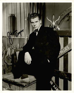 JACKIE COOPER - AUTOGRAPHED SIGNED PHOTOGRAPH