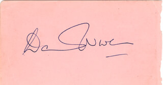 DAVID NIVEN - AUTOGRAPH CO-SIGNED BY: ROBERT YOUNG