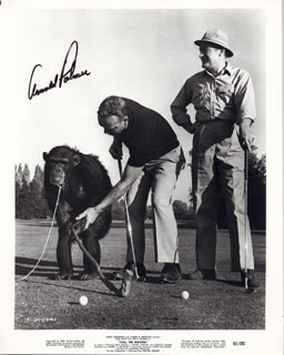 ARNOLD PALMER - AUTOGRAPHED SIGNED PHOTOGRAPH