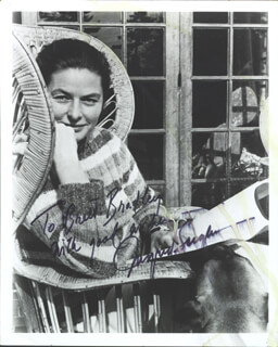 INGRID BERGMAN - AUTOGRAPHED INSCRIBED PHOTOGRAPH