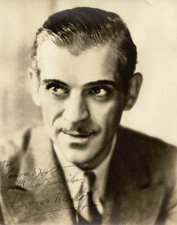 BORIS KARLOFF - AUTOGRAPHED INSCRIBED PHOTOGRAPH