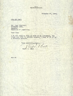 Autographs: PEARL S. BUCK - TYPED LETTER SIGNED 12/27/1946